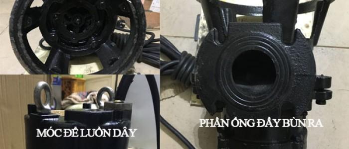 Cấu tạo của máy bơm hút bùn như thế nào?