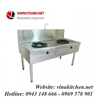 Bàn bếp gas công nghiệp 2 bếp BG-02
