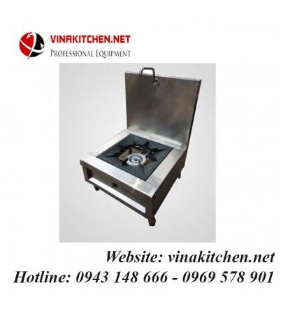 Bếp hầm đơn inox 580x450x450/1000 mm