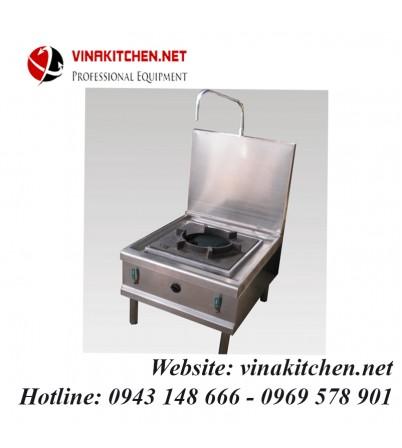 Bếp hầm đơn inox có vòi rửa 580x450x450/1000 mm
