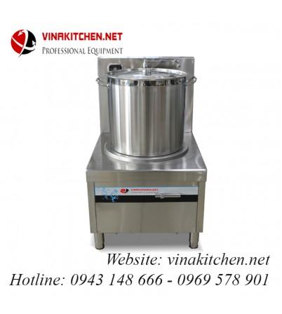 Bếp từ công nghiệp lớn có vòi rửa 15KW HZD-15KW-PDKCL