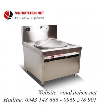 Bếp từ công nghiệp lõm lớn có vòi rửa 15KW HZD-15KW-XDLD800