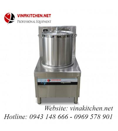 Bếp từ công nghiệp lớn có vòi rửa 20KW HZD-20KW-PDKCL