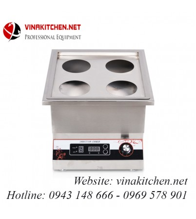 Bếp từ công nghiệp đơn nồi hấp 5KW