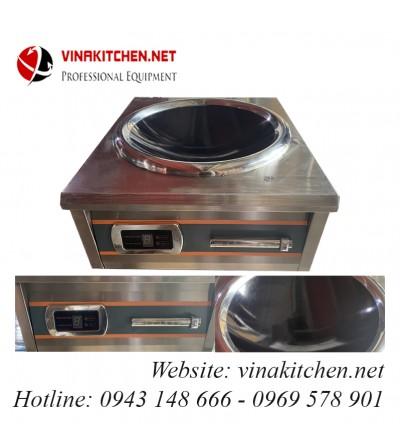 Bếp từ công nghiệp Vinakitchen mặt lõm 8-12-15 KW