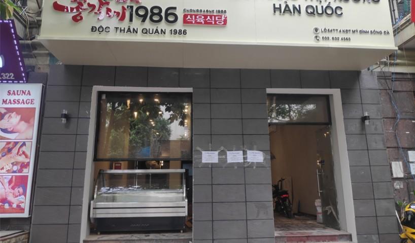 Lắp đặt và bàn giao thiết bị nhà bếp cho quán nướng Hàn Quốc tại Hà Nội
