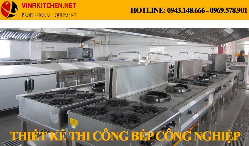 Vinakitchen chuyên nhận thiết kế thi công bếp công nghiệp – bếp nhà hàng