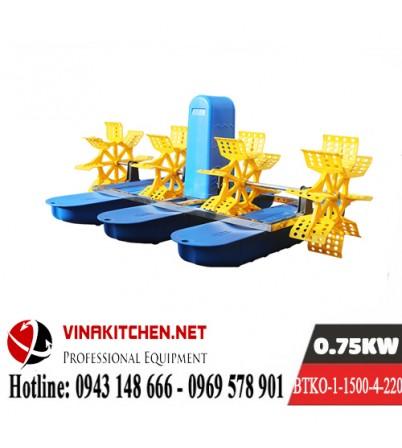 Máy Bơm Tạo Khí Oxy Nuôi Thủy Sản BTKO-1-1500-4-220