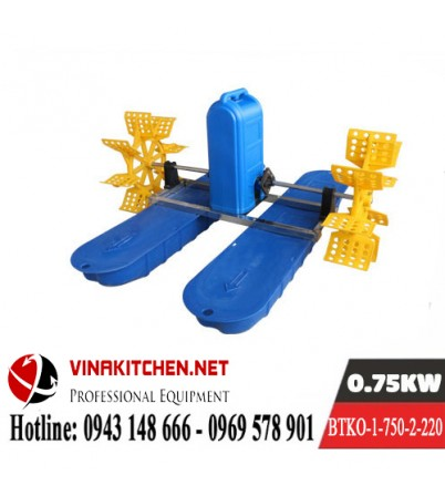 Máy Bơm Tạo Khí Oxy Nuôi Thủy Sản BTKO-1-750-2-220