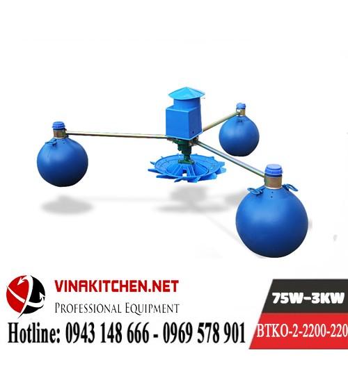 Máy Bơm Tạo Khí Oxy Nuôi Thủy Sản BTKO-2-2200-220
