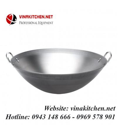 Chảo thép dùng cho bếp từ công nghiệp đường kính 40 CM