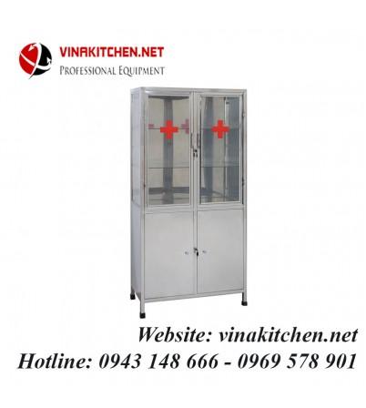 Tủ thuốc inox y tế TT-01