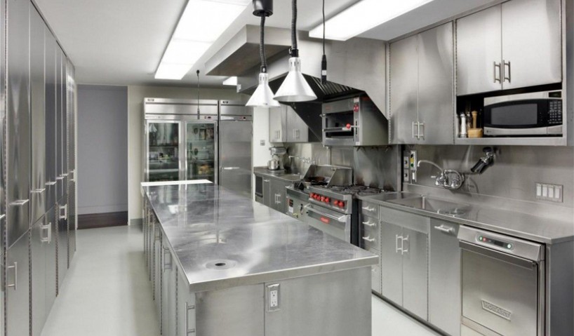Thiết kế bếp công nghiệp, bếp nhà hàng theo nguyên tắc 1 chiều