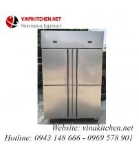 Tủ đông - tủ mát 4 cánh inox Vinakitchen