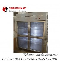 Tủ đông - tủ mát 4 cánh kính Vinakitchen