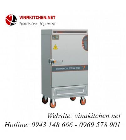 Tủ nấu cơm gas và điện 6 khay TCGD-06